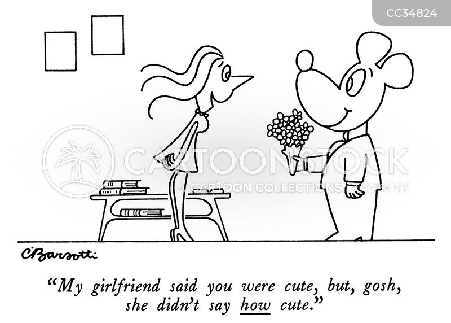 blind date cartoon