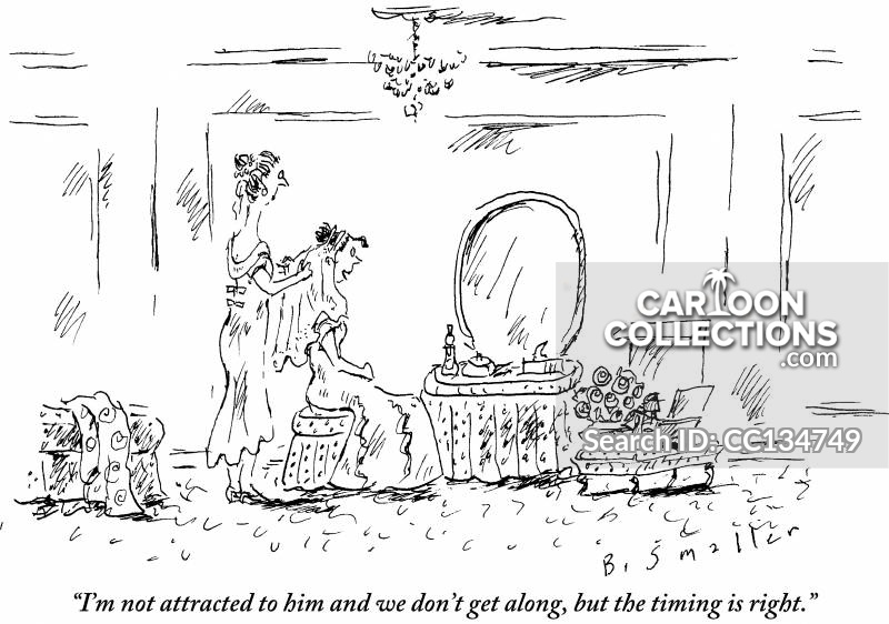 wedding day cartoon