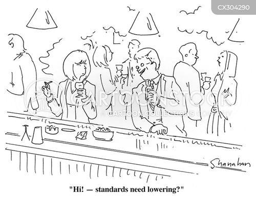 low standards cartoon