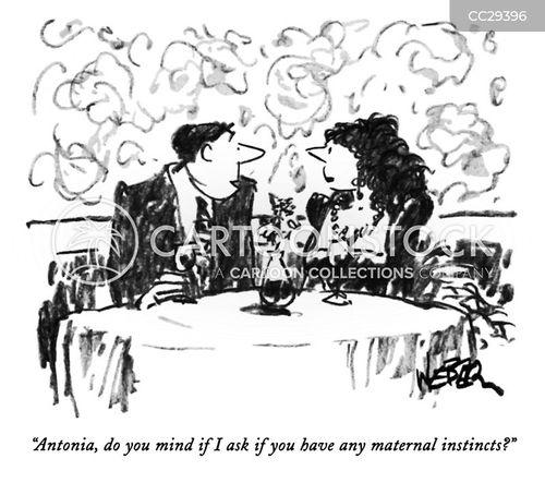 maternal instincts cartoon