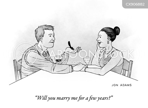 fiancés cartoon