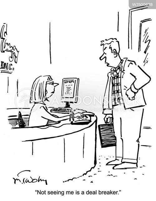 deal breaker cartoon