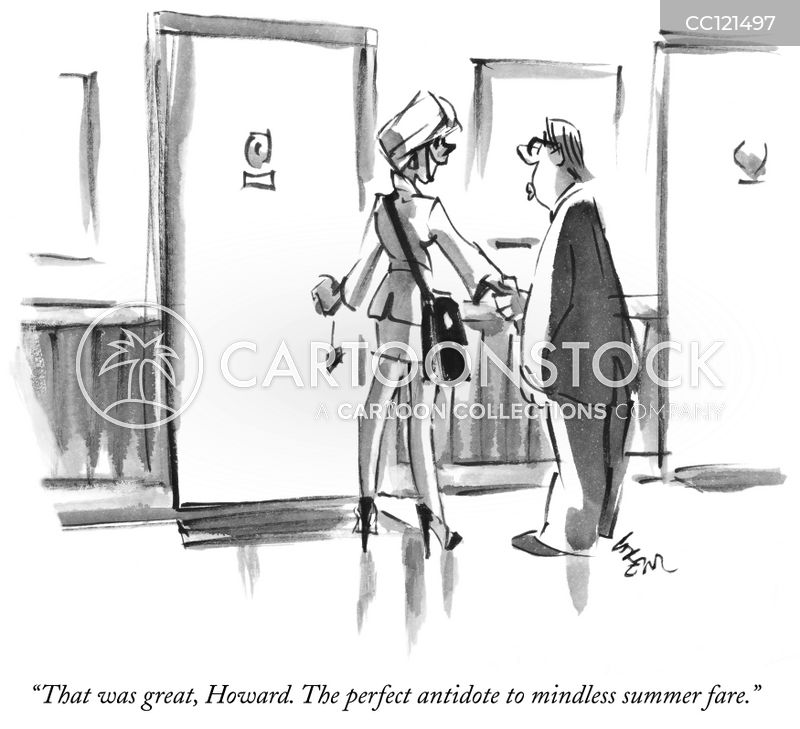passive aggressive cartoon