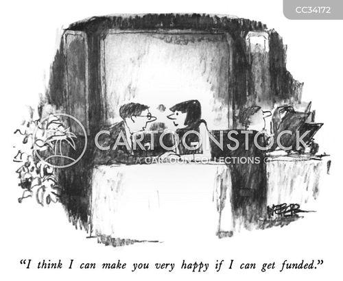 funded cartoon