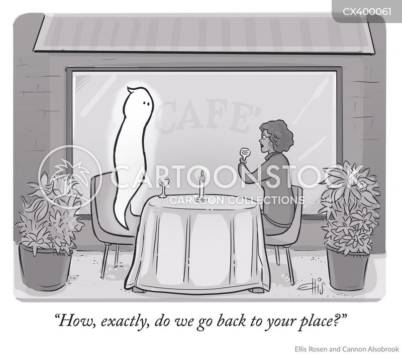 ghosted cartoon