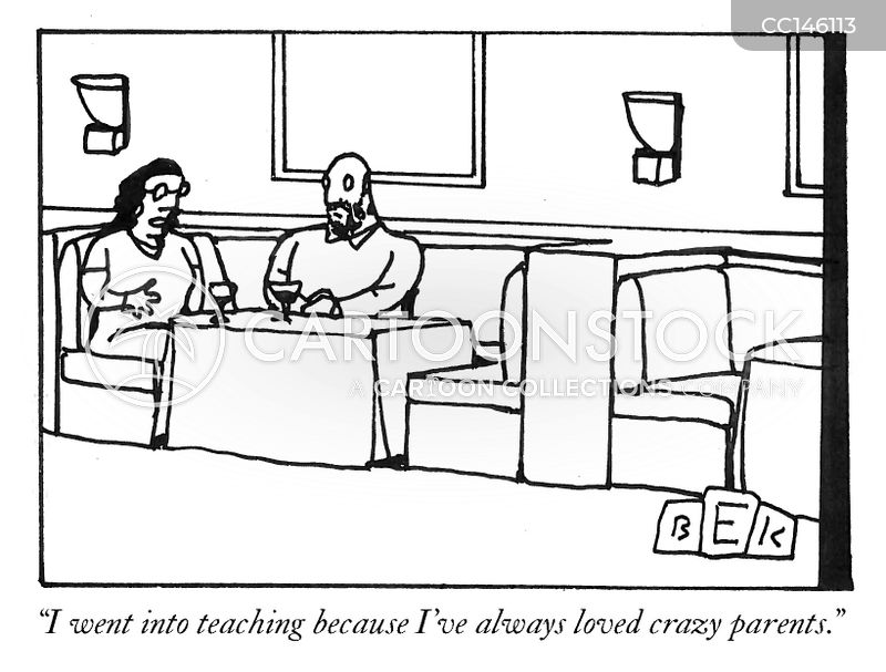 parents evening cartoon