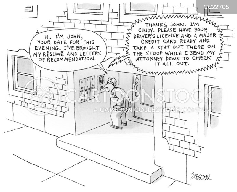 job applications cartoon