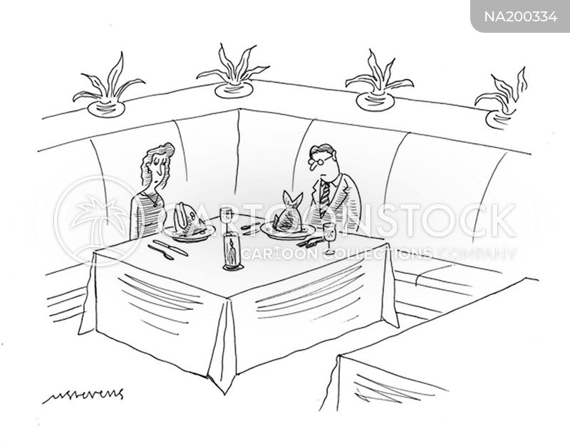 restaurant disaster cartoon