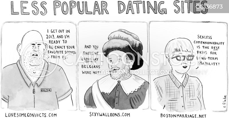 Internet Dating Site cartoon
