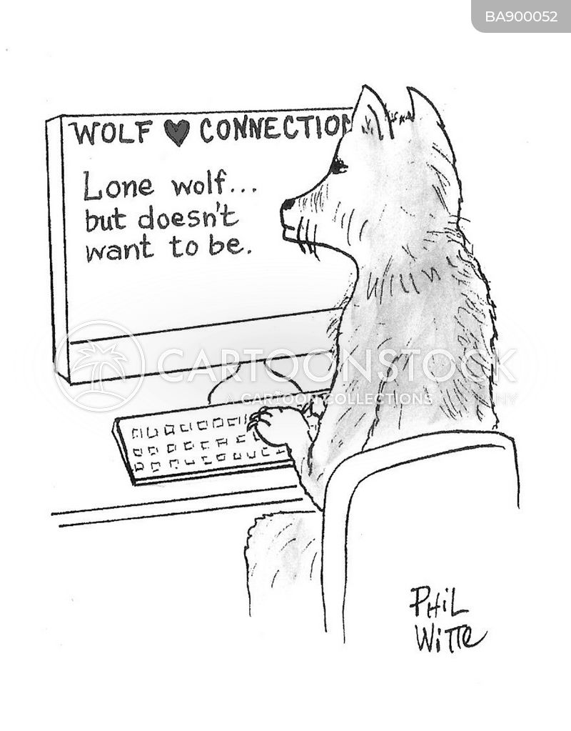 lone wolves cartoon