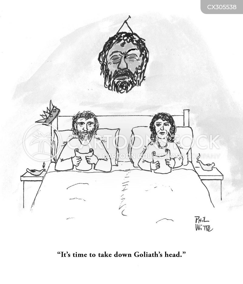 King David cartoon