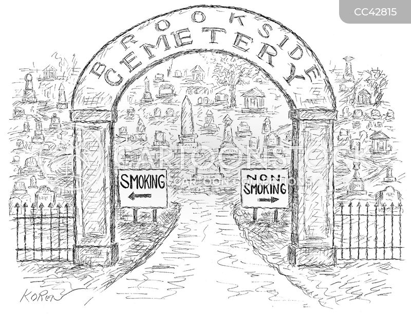 nicotine cartoon