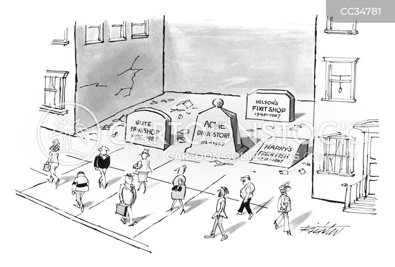 city life cartoon