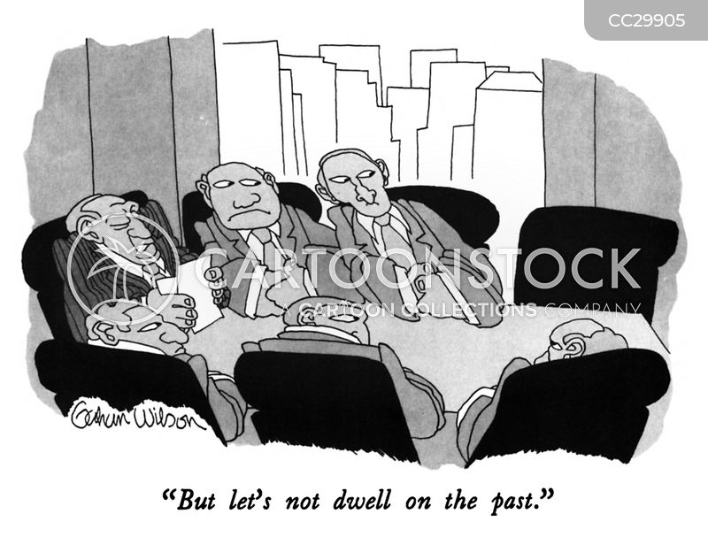 Dwell On The Past cartoon