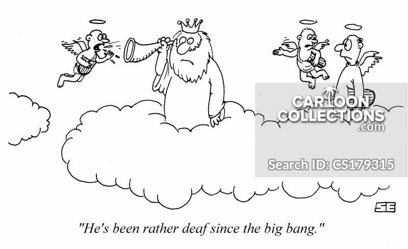 going deaf cartoon