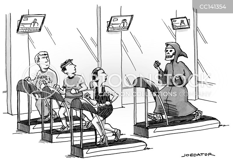 gym rat cartoon