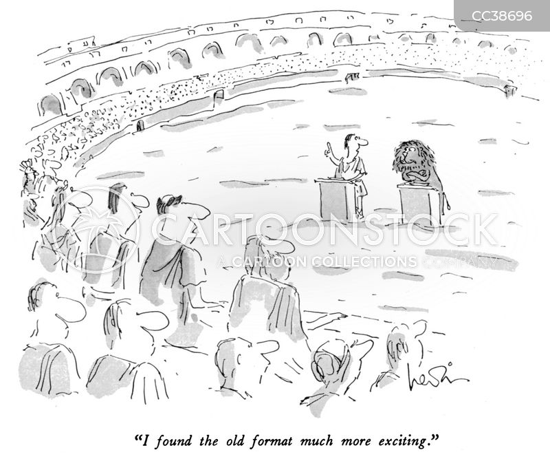 rome cartoon
