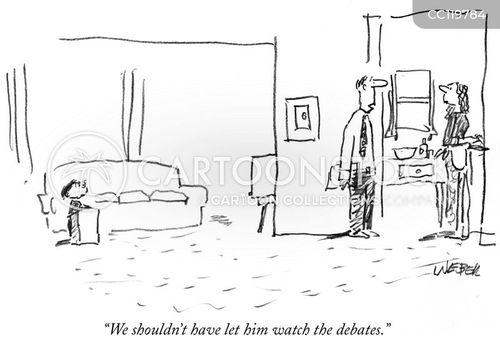 political parties cartoon