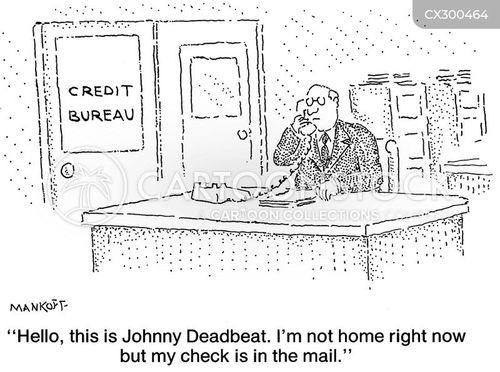 credit bureau cartoon
