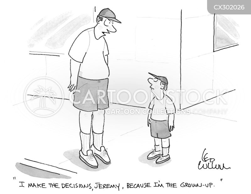 grown-ups cartoon