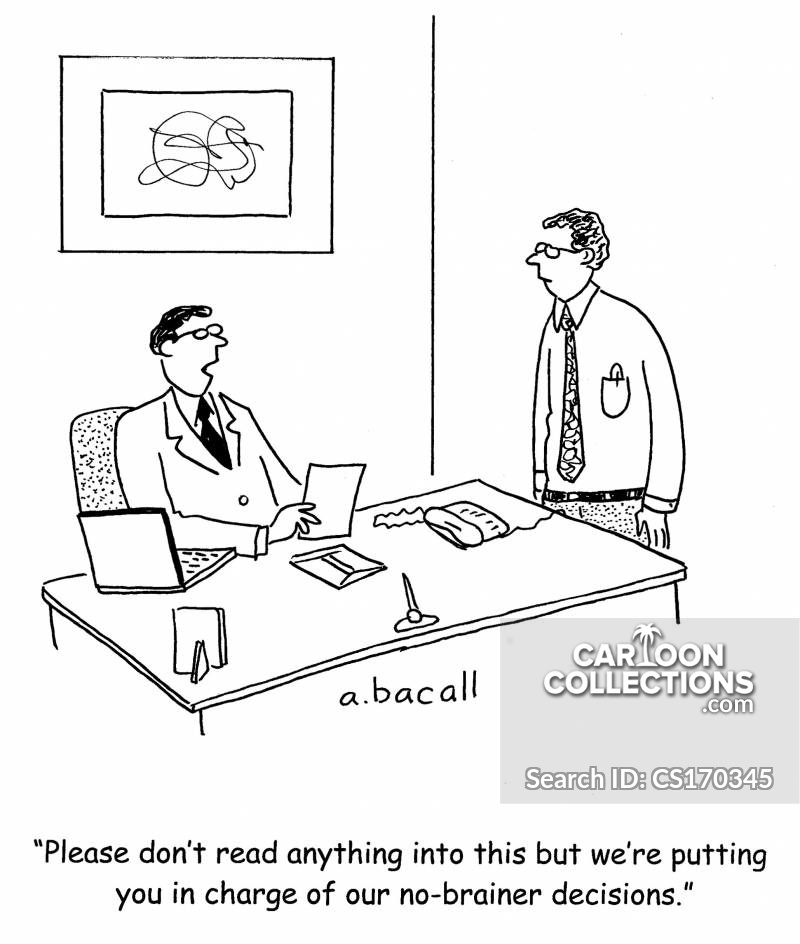 no-brainers cartoon