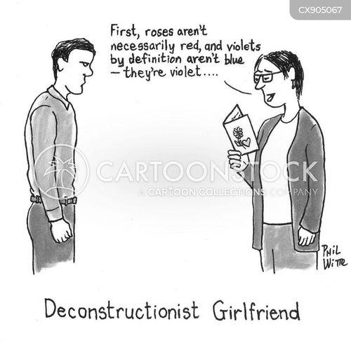 literary theory cartoon