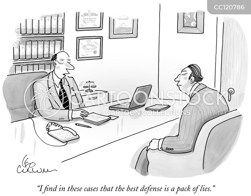 Defense Lawyers cartoon