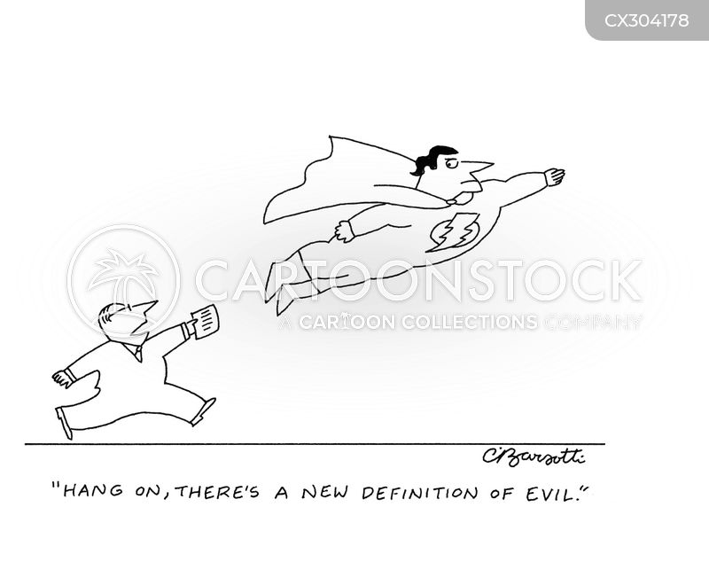 evil cartoon
