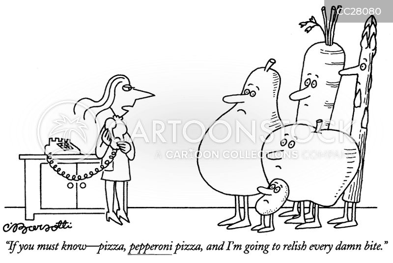 eating habits cartoon