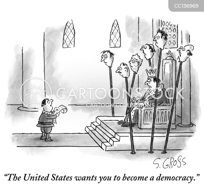 dictatorship cartoon