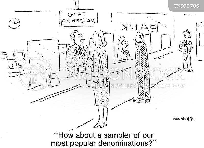 sampler cartoon