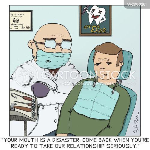 flossing cartoon