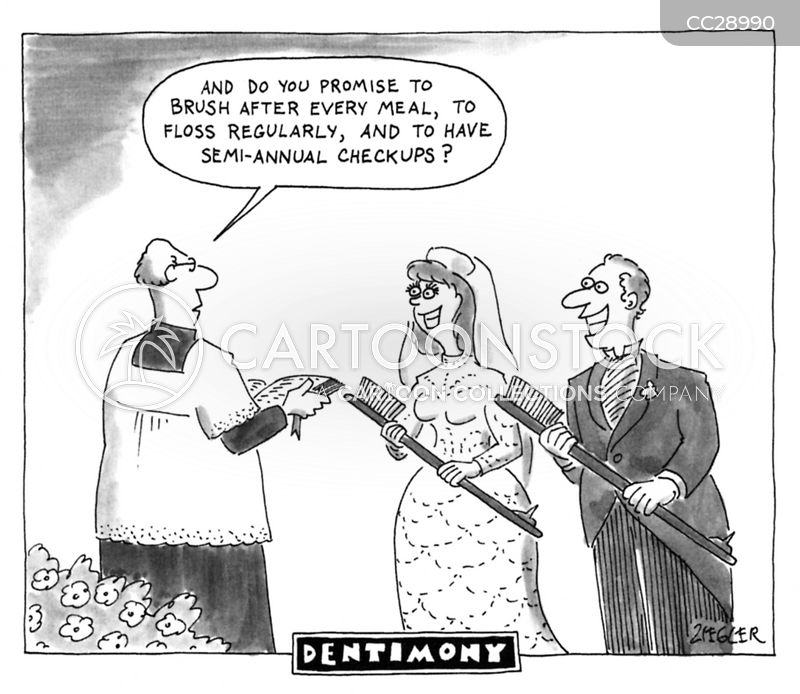 wedding ceremonies cartoon