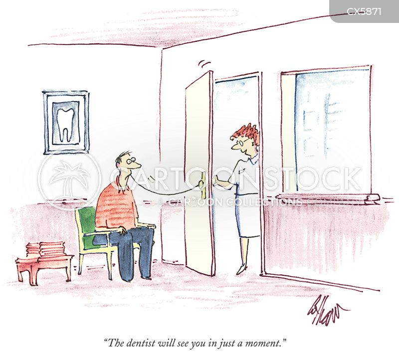 dentistry cartoon