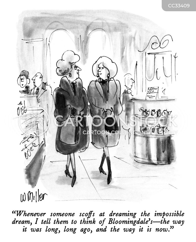 shopaholics cartoon