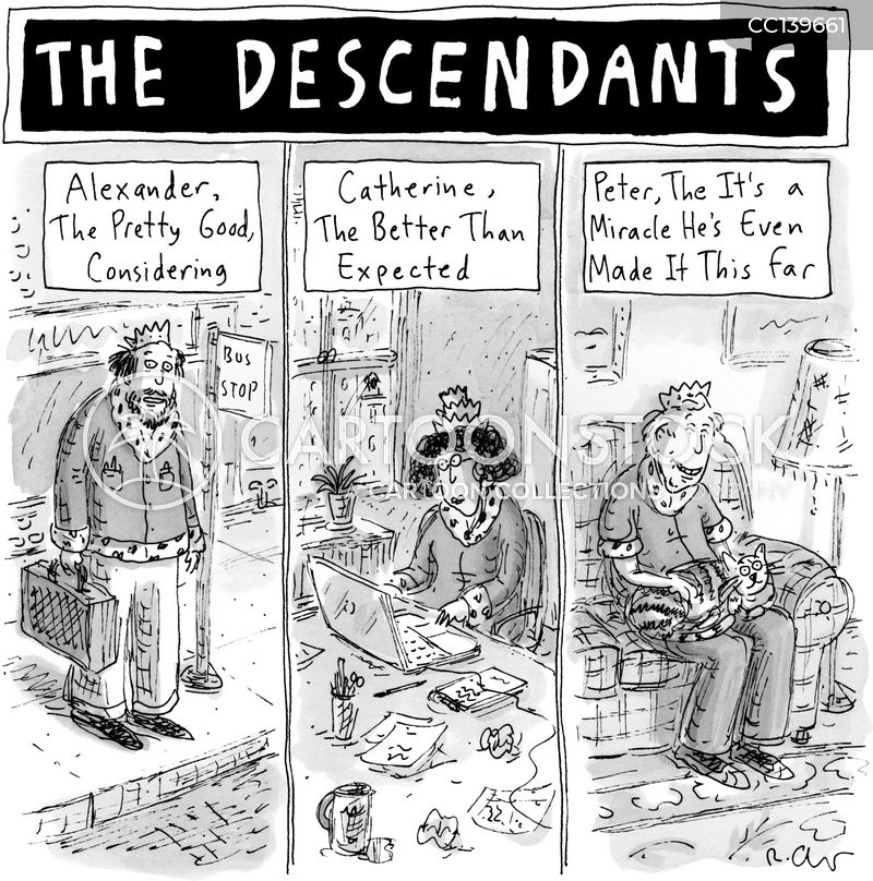 descendants cartoon