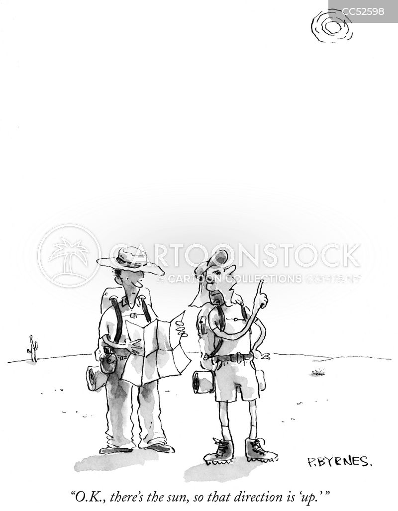 wilderness skills cartoon
