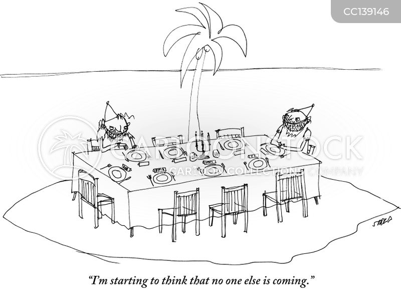 deserted islands cartoon