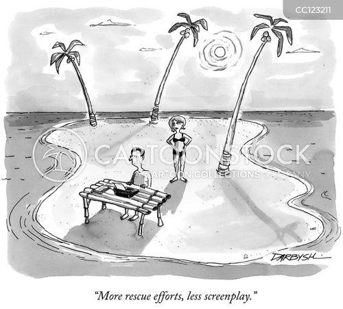 rescue attempt cartoon