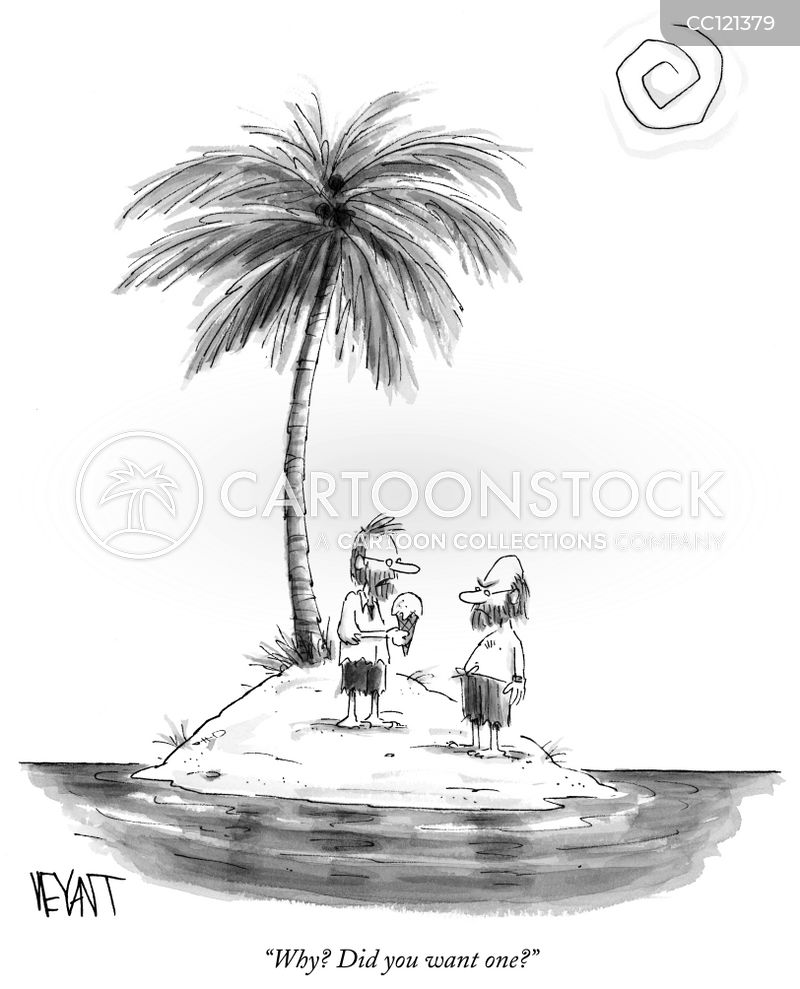 castaway cartoon