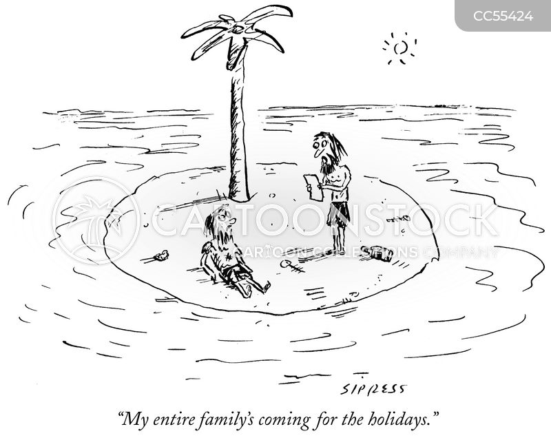 marooned cartoon