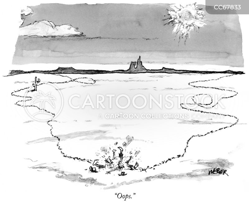 lost people cartoon