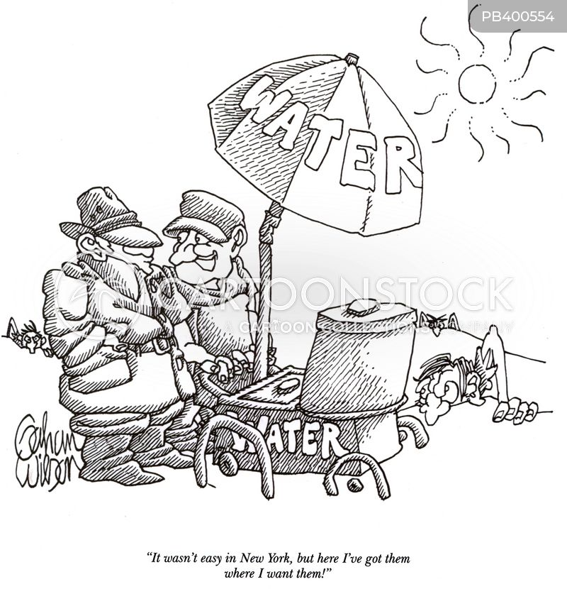 water vendors cartoon