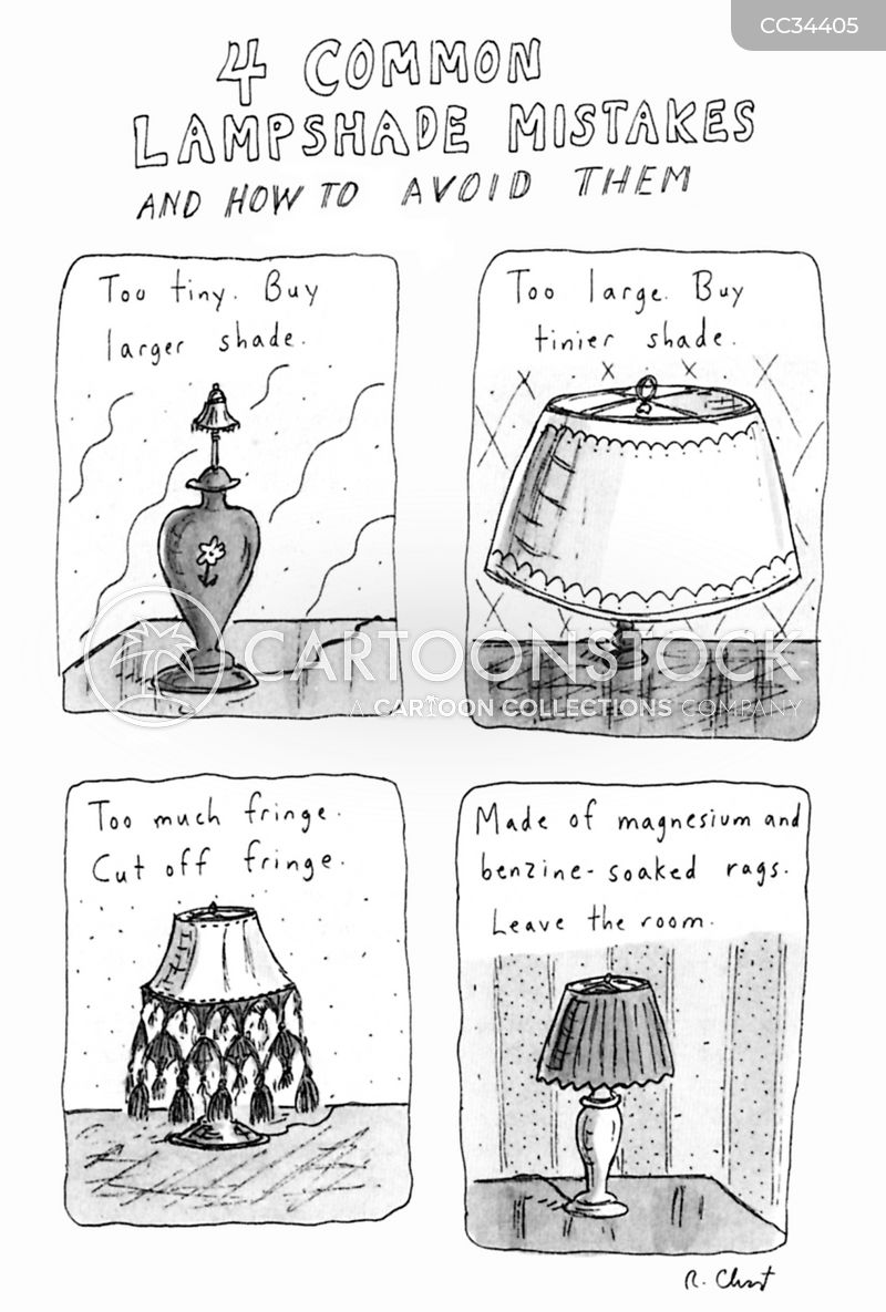 lampshades cartoon