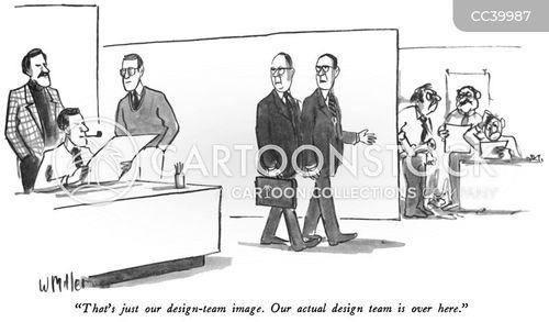 image conscious cartoon