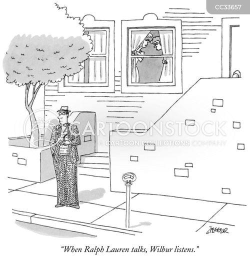 nosy neighbors cartoon