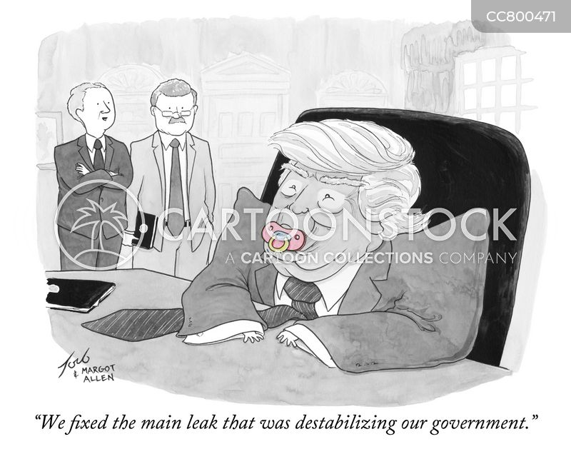 destabilizing cartoon