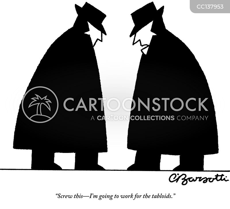 detectives cartoon