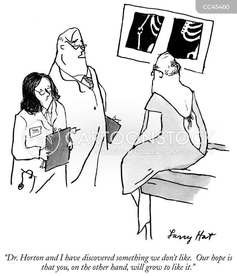 x-rays cartoon