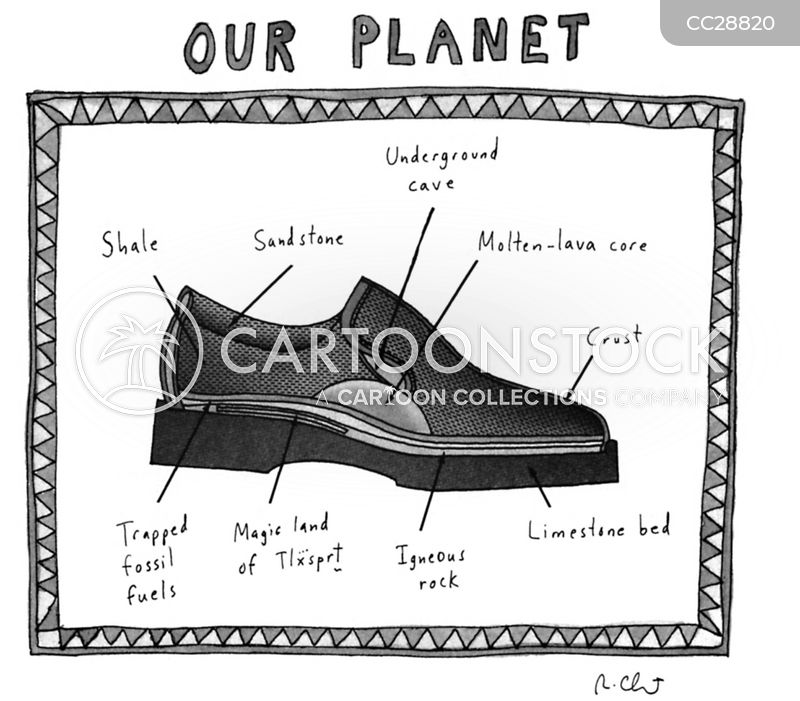 Dress Shoe cartoon